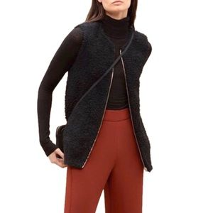 Aritzia Wilfred Chatou Vest Womens Size Small